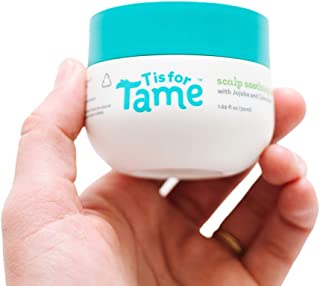 T is for Tame – Cradle Cap Treatment for Babies, Toddlers & Kids | Made with Organic Calendula for Sensitive Skin Prone to...