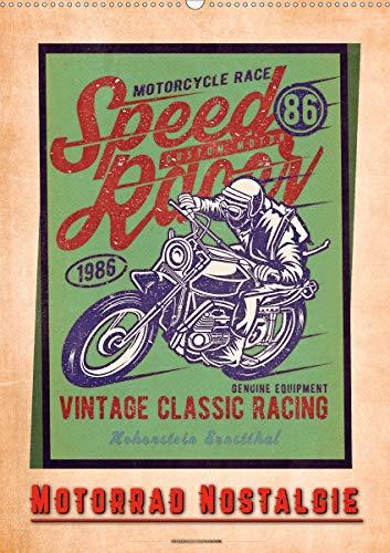 Motorrad Nostalgie (Wandkalender 2021 DIN A2 hoch)