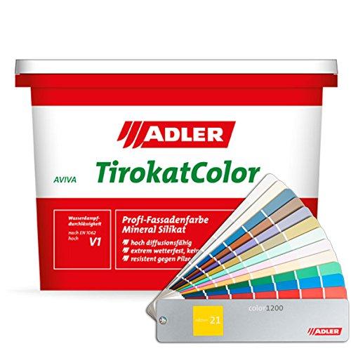 Aviva Tirokat-Color 1l B17/5 Lauch Fassadenfarbe Außen