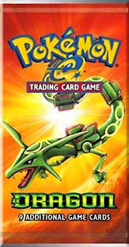 Pokemon-e EX Dragons Trading Card Game Booster Pack