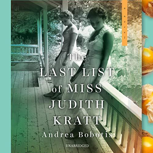 The Last List of Miss Judith Kratt  By  cover art