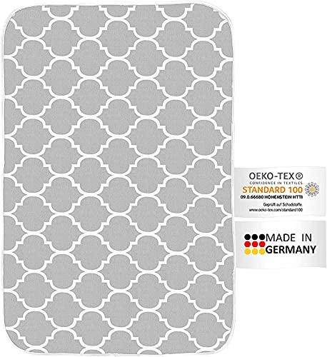 arteneur® - Couverture à repasser pour table et fer à vapeur Fabriqué en Allemagne | Tapis de repassage résistant à la chaleur & réfléchissant la chaleur (100 x 65 cm).