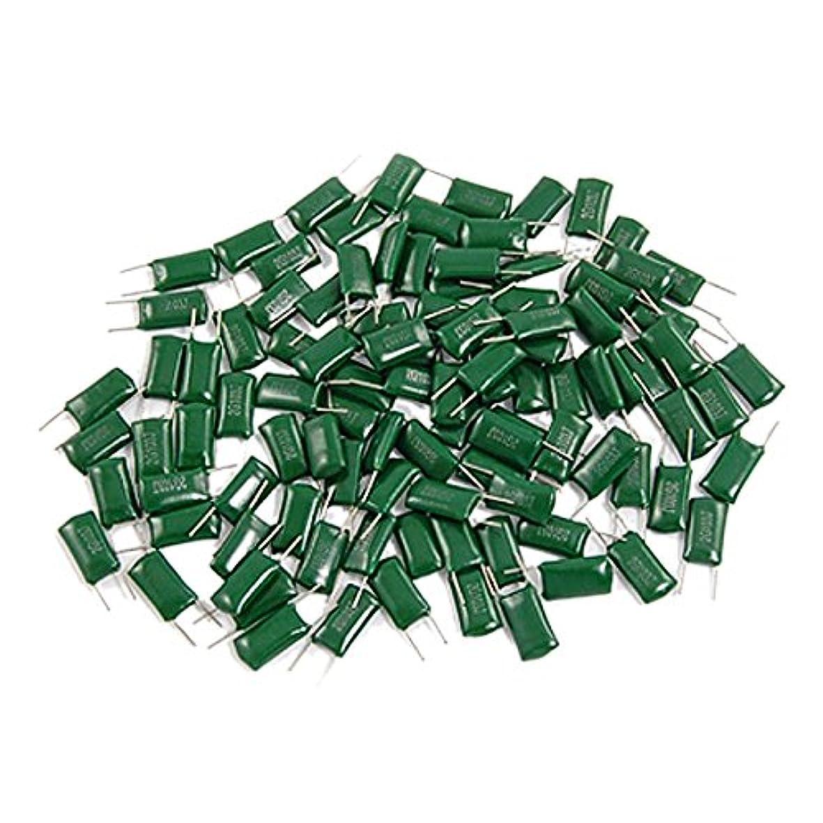 ペパーミント満足させる韓国SODIAL(R) 100個0.01uF 10000pF 400V 5%ポリエステルフィルムコンデンサ