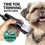 Professionnel Tondeuse à cheveux électrique, machine de coupe de cheveux professionnelle pour chien de compagnie