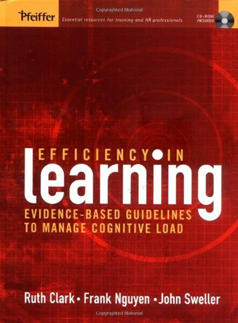 Efficiency in Learning: Evidence-Based Guidelines to Manage Cognitive Load (English Edition)