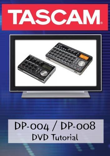 Tascam DP-004 / DP-008 DVD Video Training Tutorial Help