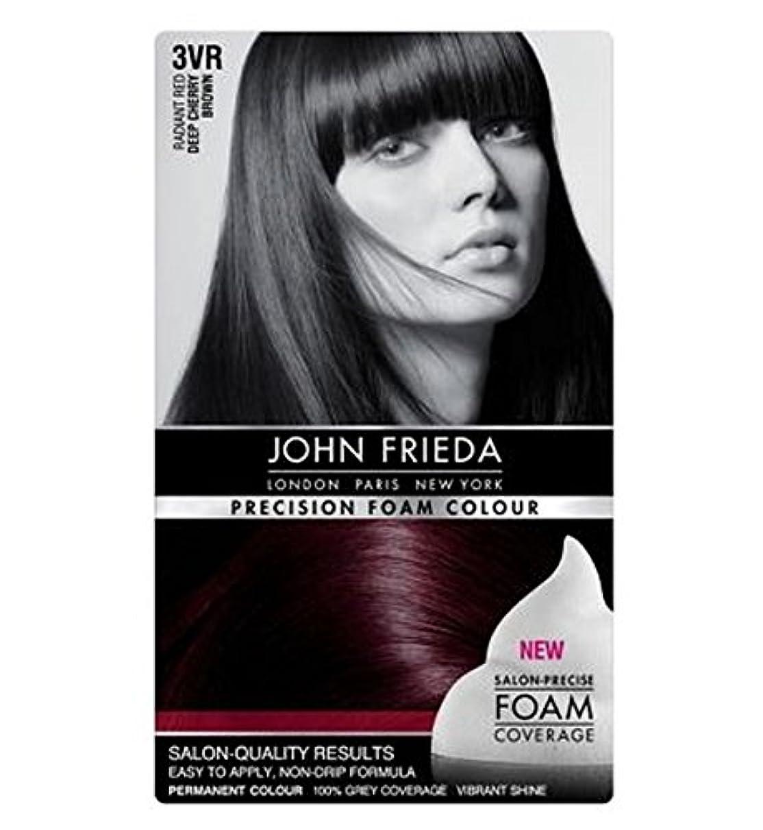 消費者儀式用心するJohn Frieda Precision Foam Colour 3VR Deep Cherry Brown - ジョン?フリーダ精密泡カラー3Vr深いチェリーブラウン (John Frieda) [並行輸入品]