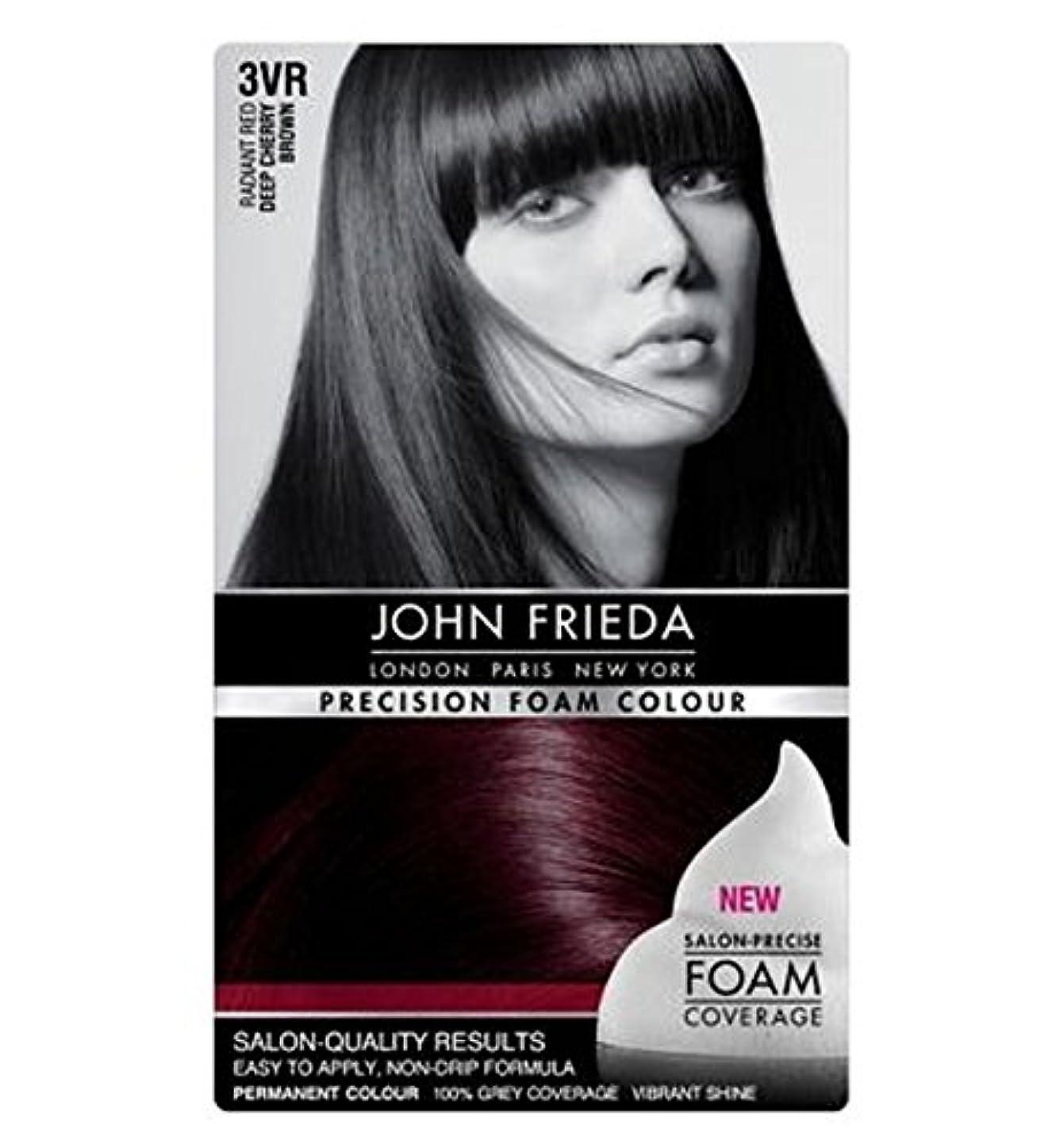 差別化する欠席驚いたことにジョン?フリーダ精密泡カラー3Vr深いチェリーブラウン (John Frieda) (x2) - John Frieda Precision Foam Colour 3VR Deep Cherry Brown (Pack of 2) [並行輸入品]