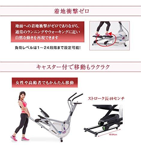 ダイヤコフィットネスバイクSE205-43クロストレーナー家庭用