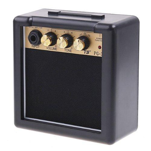 ammoon PG-3 Control de 3W guitarra eléctrica amperio amplificador del altavoz de...