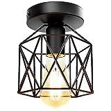 Vintage Lámpara de techo,Industrial Luz de techo...