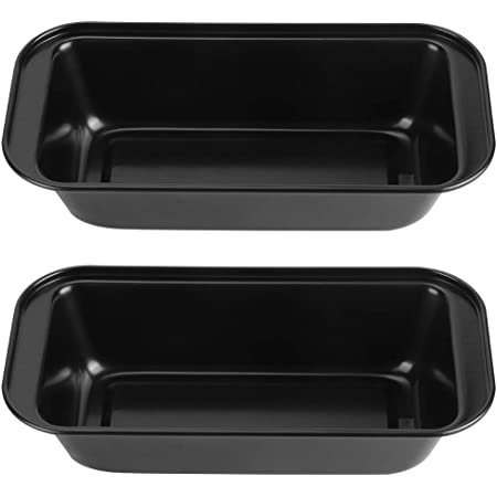 2-Pack Fox Run Rehruecken Nonstick Carbon Steel Loaf Bread Cake Pan 31cm