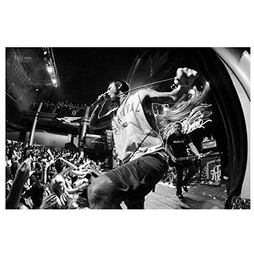 Parkway Drive - Metalcore Band Music Star Pintura Lienzo Arte de la Pa