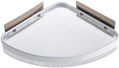 Parshall badkamer douche hoek plank geen boren roestvrij ruimte aluminium douche Caddy opslag voor badkamer keuken, wit