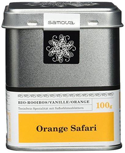 Samova Orange Safari - Bio-Rooibos, 1er Pack (1 x 100 g)