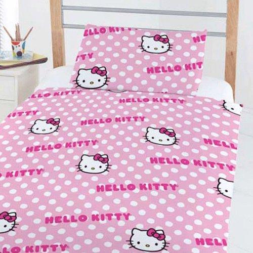 Hello Kitty Ensemble de lit - s'adapte pour tout-petits, Junior et lit bébé lits