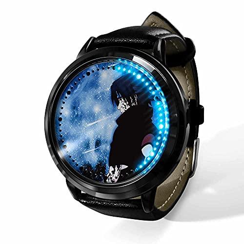 Relojes De Pulsera,Pantalla Táctil Led Reloj Naruto Anime Que Rodea Impermeable Cinta Luminosa Reloj Electrónico Creativo Regalo De Cumpleaños-A