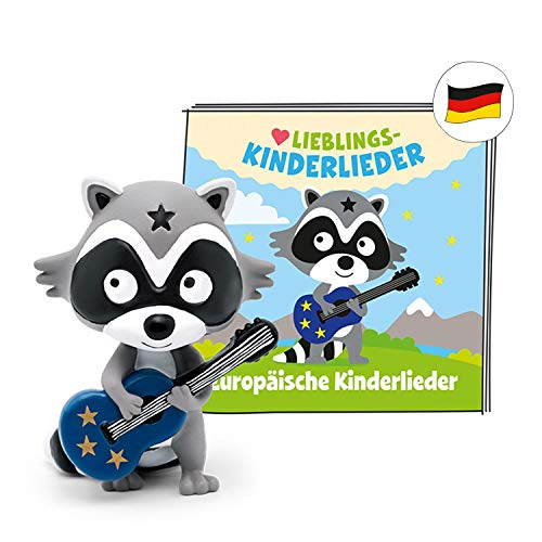 tonies Hörfigur für Toniebox, Lieblings-Kinderlieder – Europäische Kinderlieder, Hörspiel für Kinder ab 3 Jahren, Spielzeit ca. 50 Minuten