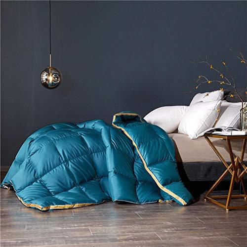 CHOU DAN Summer duvet double bed climate control single duvet 4.5 Tog summer duvet single bed-150x200 3000g_green