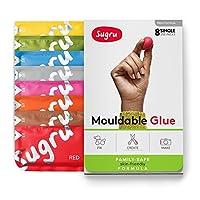 Sugru スグルー成形可能な接着剤 - 家族で安心| 肌に優しい配合新色(8 パック)