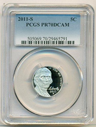 2011 S Jefferson Proof Nickel PR70 DCAM PCGS