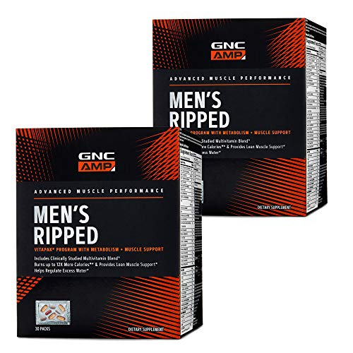 GNC AMP GNC AMP Men's Ripped Vitapak Program - Twin Pack