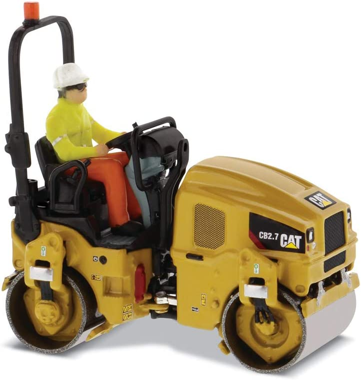 Diecast Masters Popular product low-pricing CAT Caterpillar CB-2.7 Utility Compactor Op with