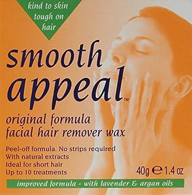 Smooth Appeal 40g Wax Original Formula Facial Hair Remover