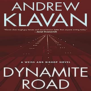 Dynamite Road audiobook cover art