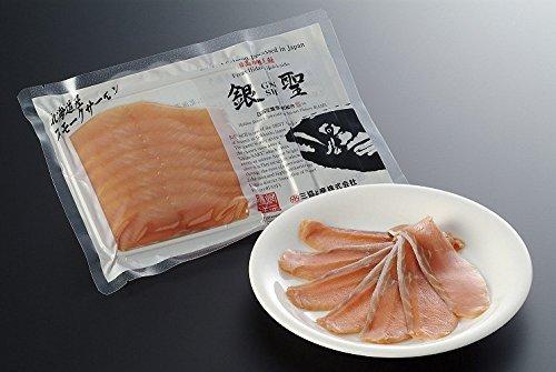 漁吉丸の銀聖スモークサーモン 80g入