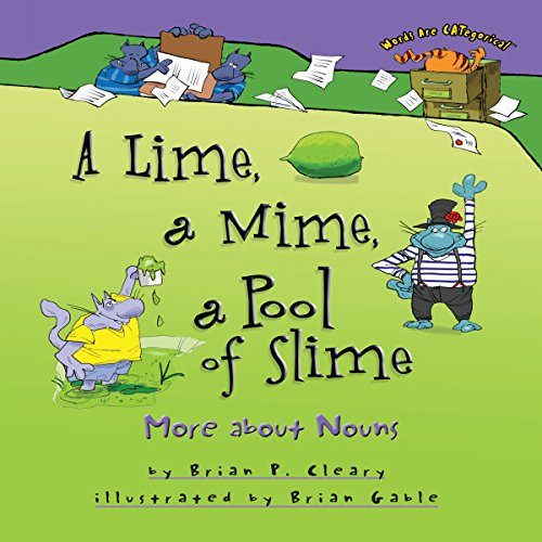 A Lime, a Mime, a Pool of Slime copertina