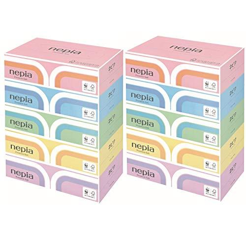 スマートマットライト ネピア プレミアムソフト ティシュ 360枚(180組)×5個パック ×2個