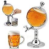 Tutoy 1000Cc Globo En Forma De Licor Beber Barril Cerveza Dispensador Vino Bebida Bomba Decantador Grifo