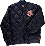 Dickies Chicago Fire Department Quilted Jacket (Small) Navy Blue