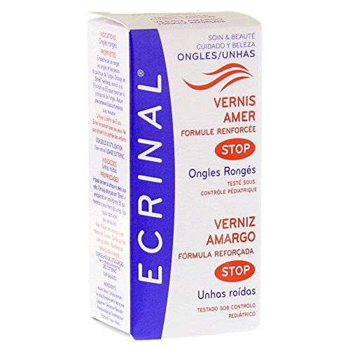 ECRINAL® - VERNIS AMER POUR ONGLES RONGÉS – 10ml