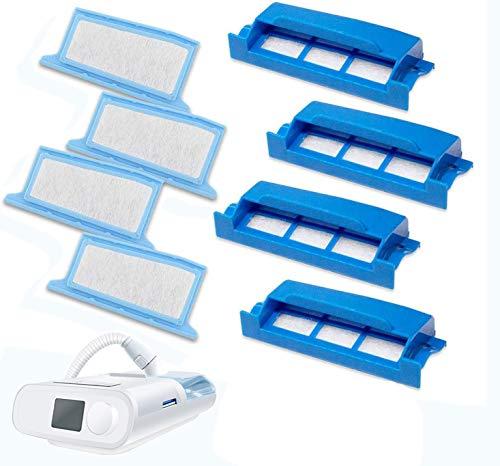 Medihealer Filters 24 Packs: Need Assemble Filter into Reusable Frame Kit - 4 Assembled Filters + 8 Ultra-fine + 8 Foam - Pollen & Hypoallergenic -Premium Replacement Filter Supplies by Medihealer