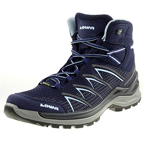 Lowa FERROX PRO GTX MID Ws Damen Wanderstiefel Trekkingschuh Outdoor Goretex blau, Schuhgröße:41.5 EU