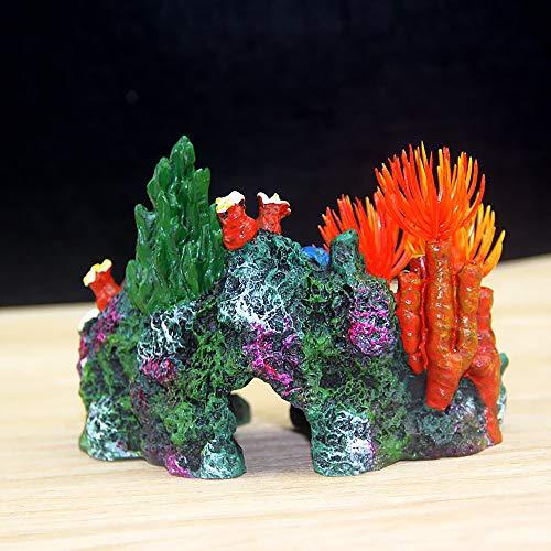 創造的な木の洞窟の魚のタンクのクローラーのアクアリウム彫刻の木の洞窟の隠れ家の家の這う好意のクモのヘビのトカゲのカメの洞窟 (珊瑚)