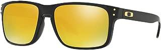 Oakley Men's Holbrook OO9102 Rectangular Sunglasses