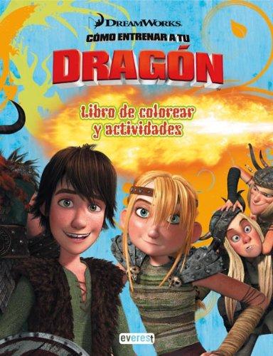 Cómo entrenar a tu dragón. Libro de colorear y actividades (Como entrenar a tu dragón)