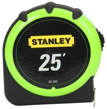 Stanley /Black & Decker – 30-305 – Cinta métrica, 25 pies, 1 pulgada de ancho, bloqueo superior