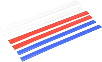 3 Pcs Silicone Rolling Strip Pin Rail Track Bar Leveler Strips Set Perfection Thickness Guides Leveling Device for Pastry ...