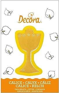 DECORA CM10,5X2,2H Cookie Cutter Chalice, 19 x 9 x 2.5 cm, Yellow