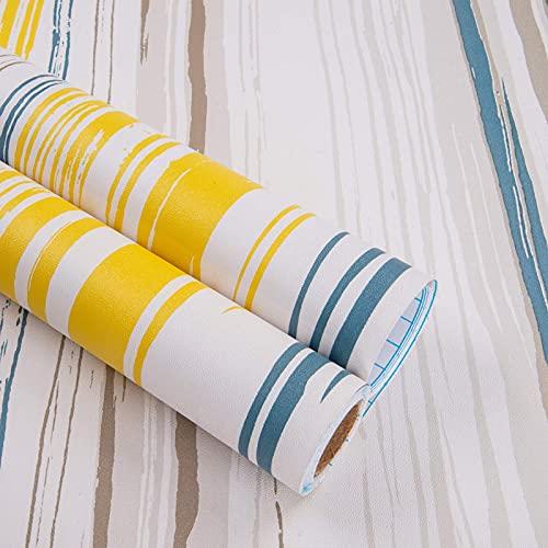 Carta Adesiva per Mobili Colorato Banda 45cmX5m...