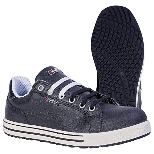 Cofra zapatos de seguridad Throw S3 SRC Old Glories en zapatillas de-aspecto, colour negro, Negro, 35070-003
