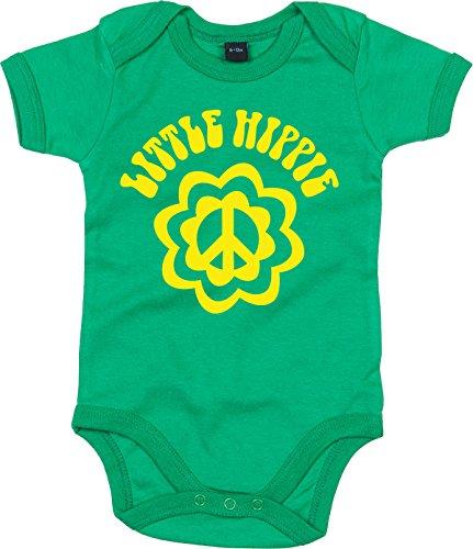 Racker-n-Roll Little Hippie Body de bébé Green Body pour bébé Vert - Vert - 9 Mois