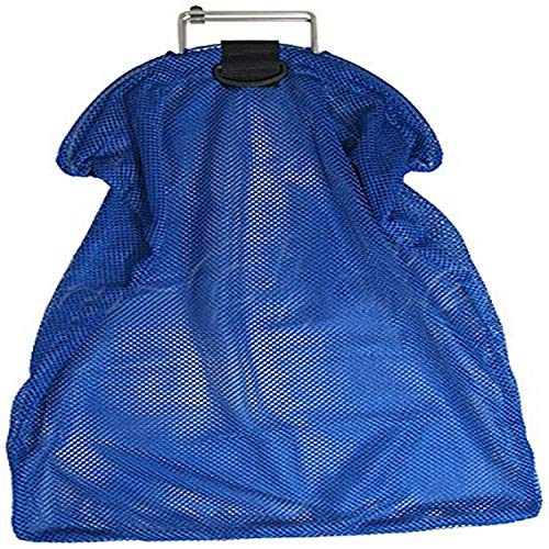 Scuba Choice Spearfishing 5mm Stainless Steel Wire Handle Blue Fish Bag Net Mesh