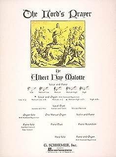 Lord's Prayer: Medium High Voice (D-Flat) and Organ