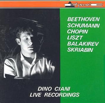 Dino Ciani: Live Recordings