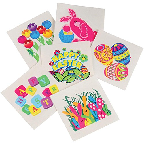 U.S. Toy Childrens Easter Temporary Tattoos